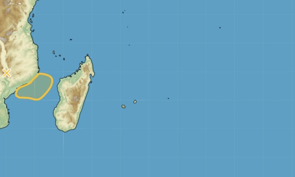 Probabilité de formation tempête tropicale