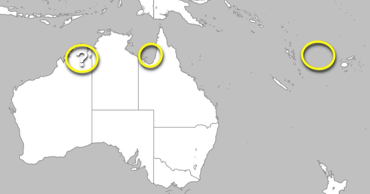 Cyclogenese australie pacifique 25012021