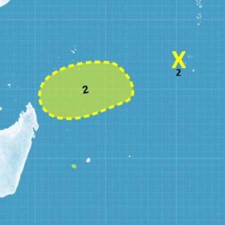 Cyclogenese dans l'océan indien sud-ouest