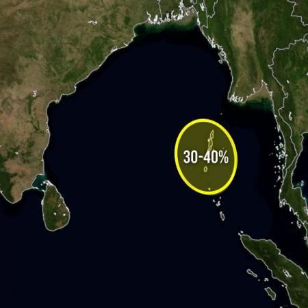 Cyclogenesis probability indian ocean