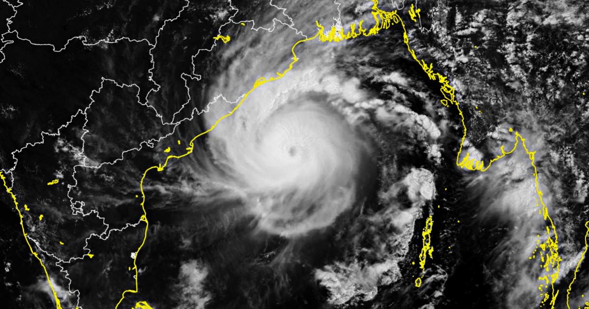 Cyclone amphan inde