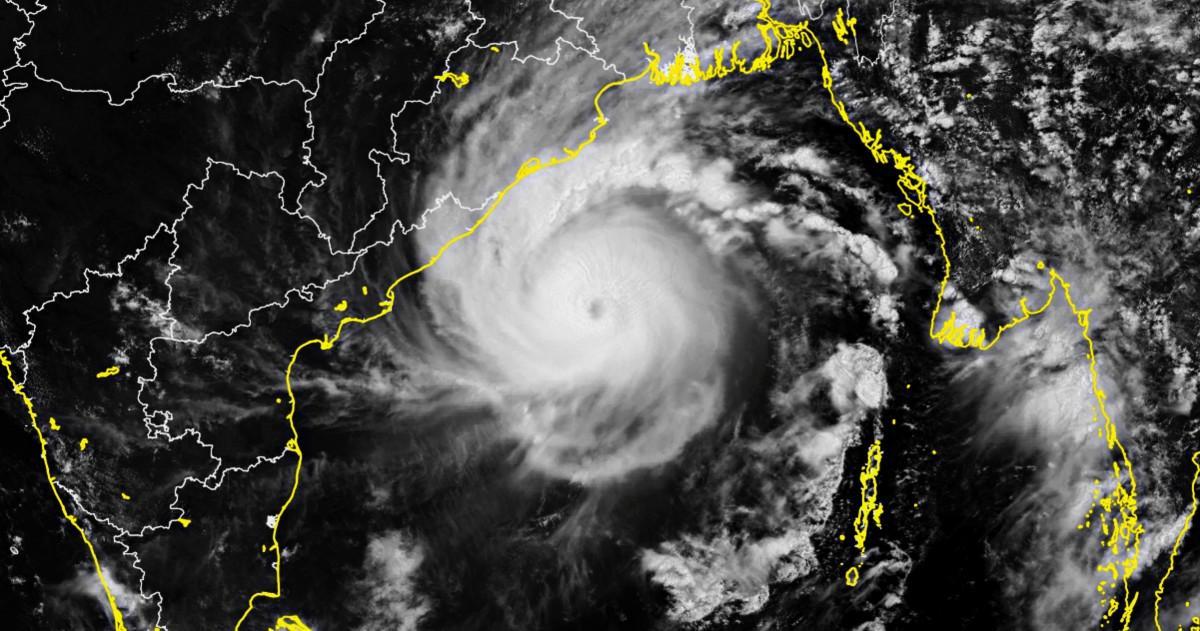 Cyclone amphan inde