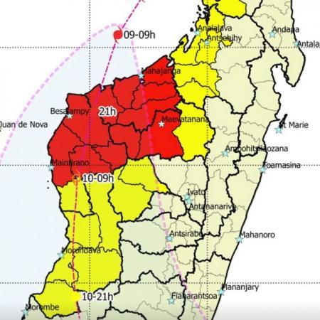 Cyclone belna alerte rouge cyclone madagascar