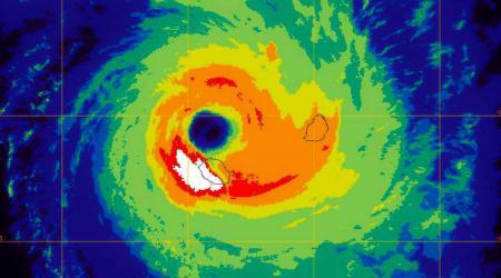 Cyclone dina la reunion
