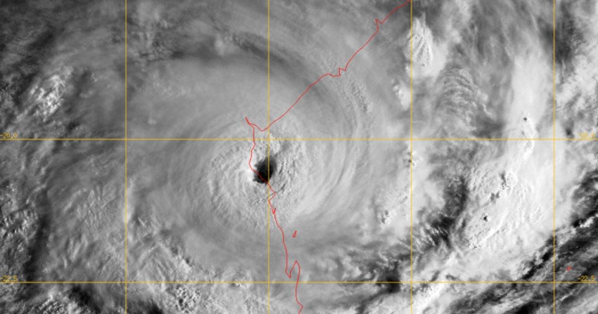 Cyclone eline mozambique