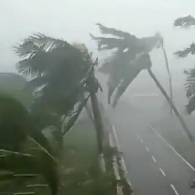 Cyclone fani en inde