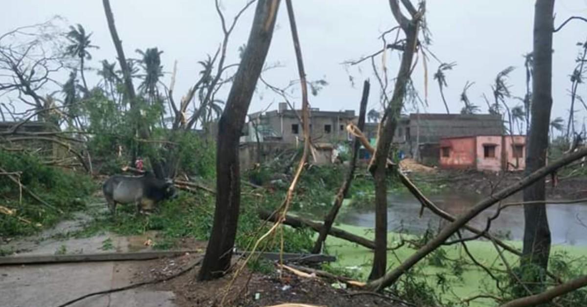Cyclone fani inde