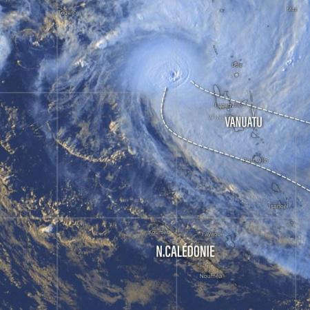 Cyclone harold menace vanuatu