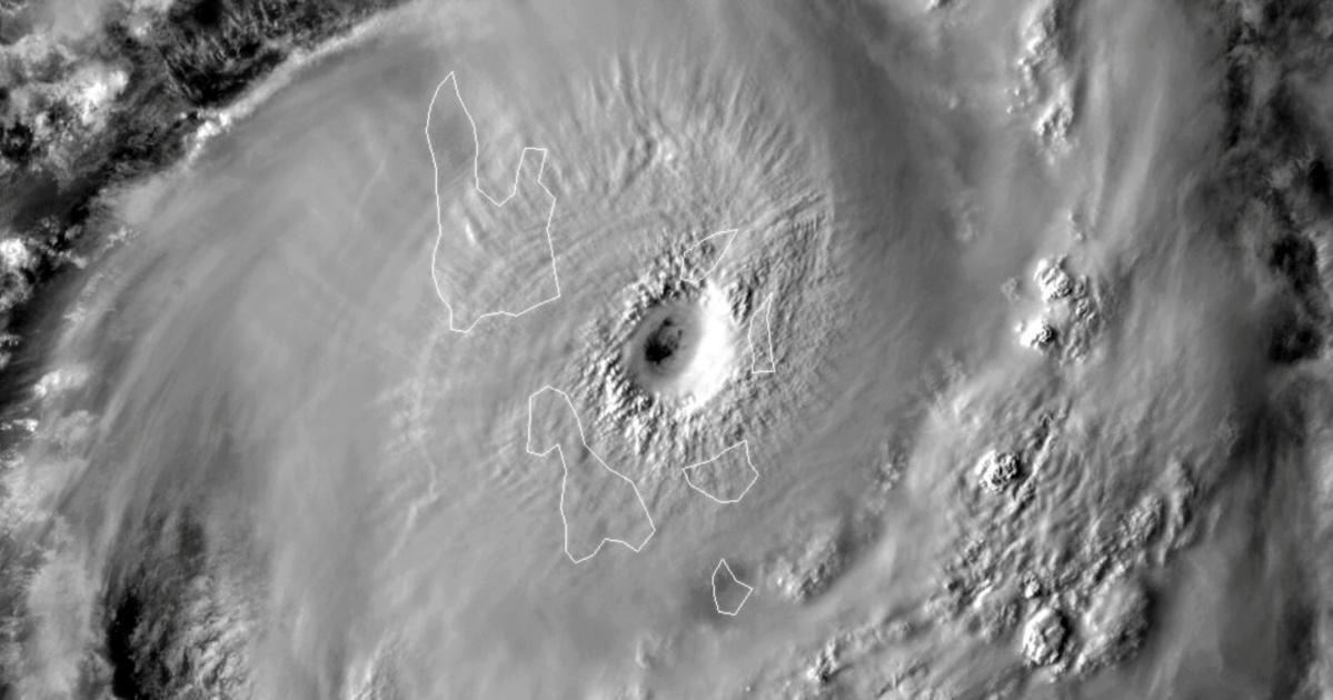 Cyclone harold un des plus puissants du Pacifique Sud