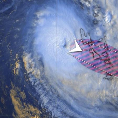 Cyclone harold zone impact vanuatu