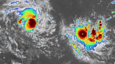 Cyclone intense ambali et tempe te belna