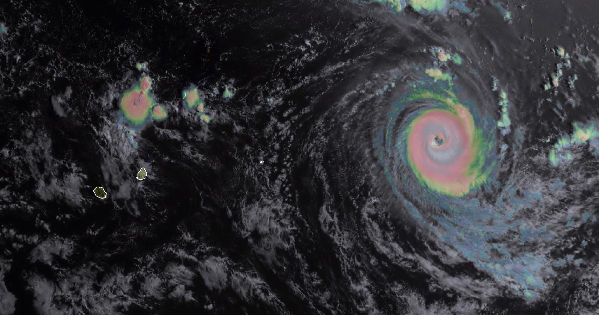 Cyclone intense habana 12 mars