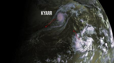 Cyclone kyarr and 99a