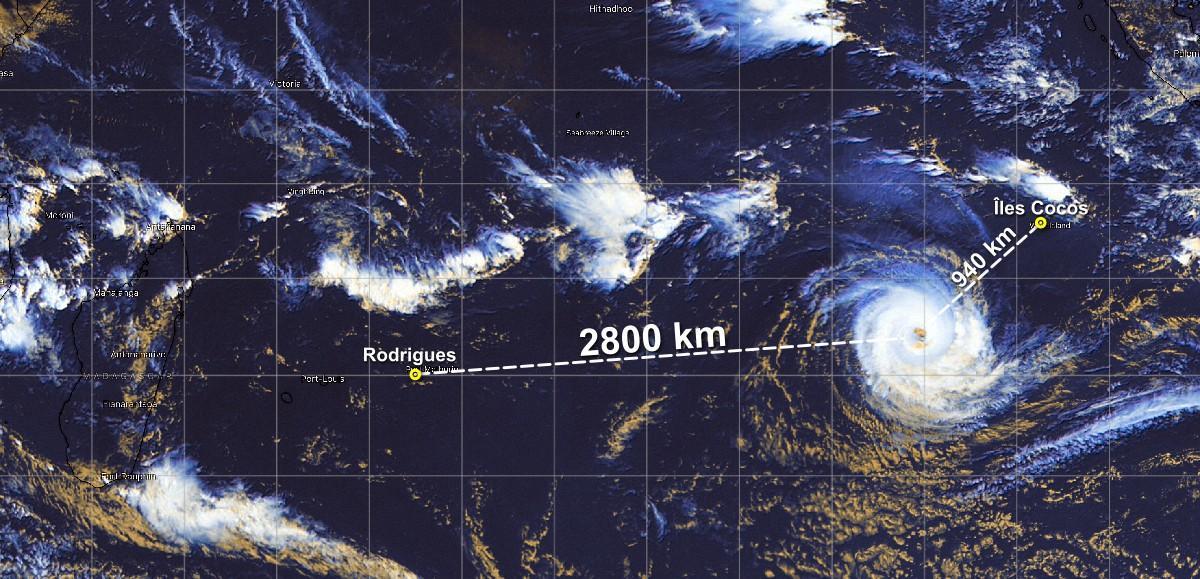 Cyclone marian 01 mars 2021