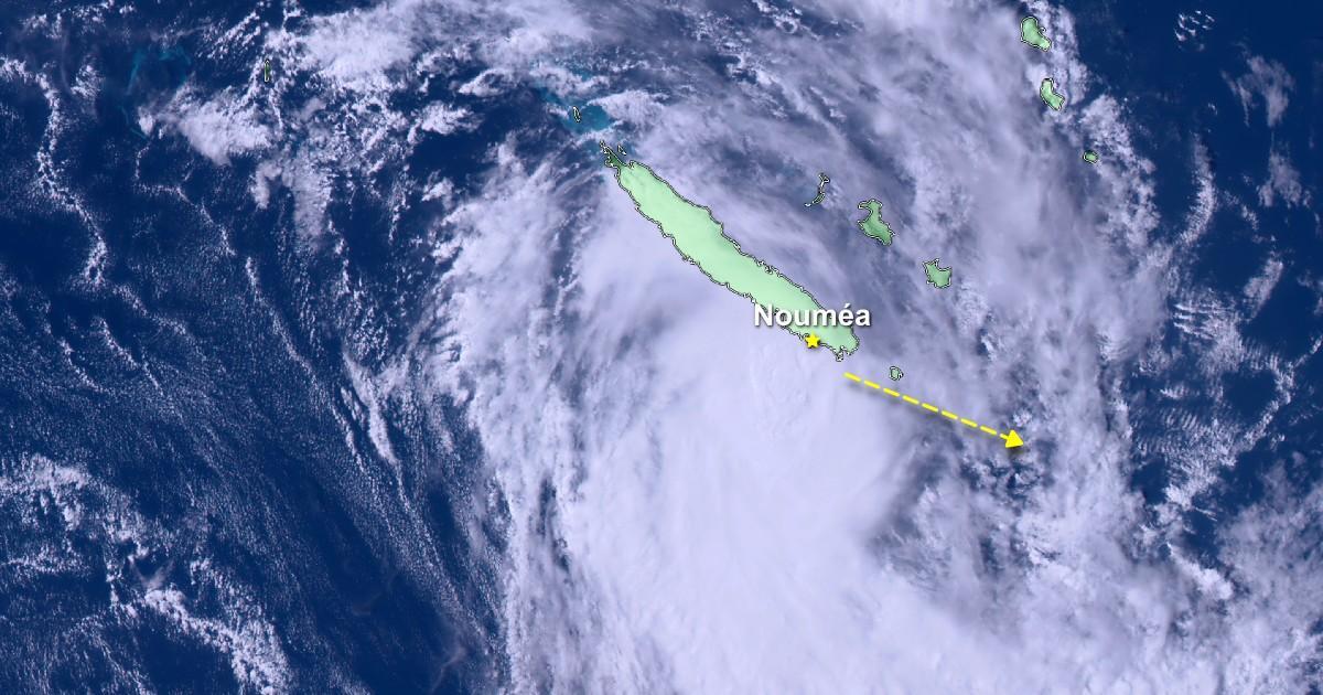 Cyclone niran noumea nouvelle caledonie