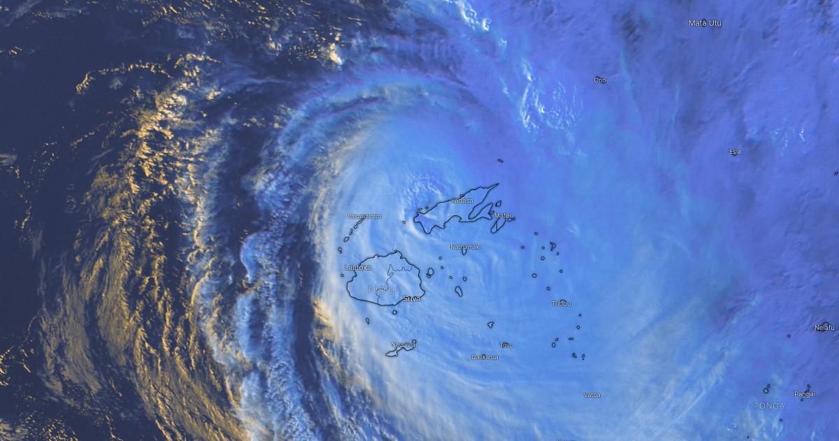 Cyclone yasa fidji