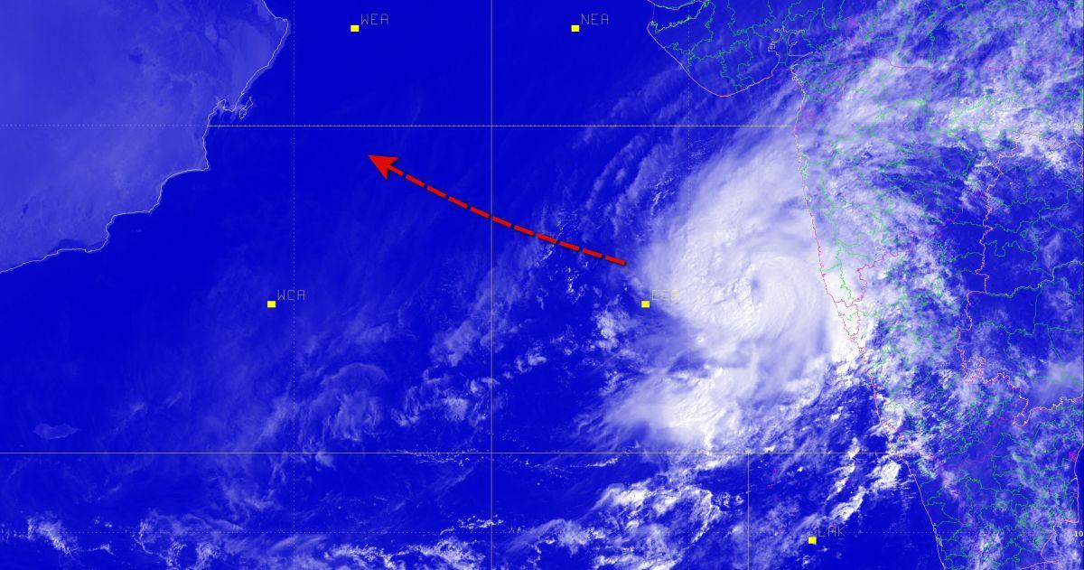 Cyclonic storm kyarr 1