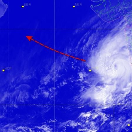 Cyclonic storm kyarr