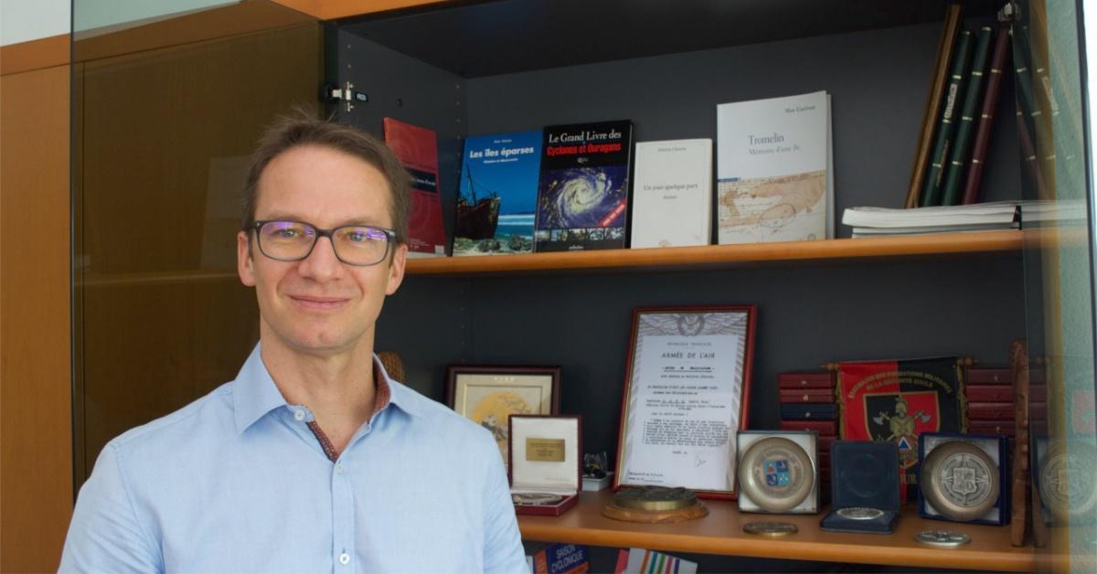 David Goutx directeur interregional de météo france océan indien