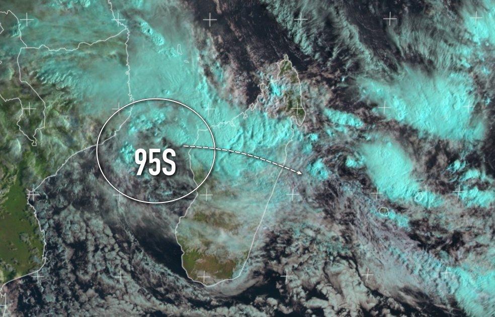 Zone suspecte 95S Madagascar