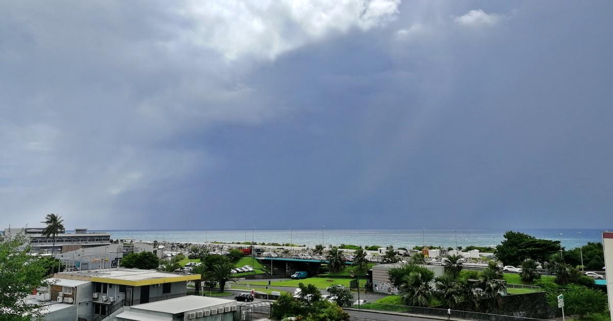 Degradation pluvieuse à la Réunion