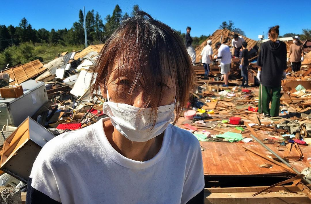 Degat typhon hagibis
