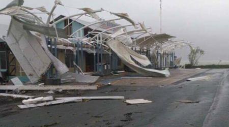 Degats du cyclone debbie en australie
