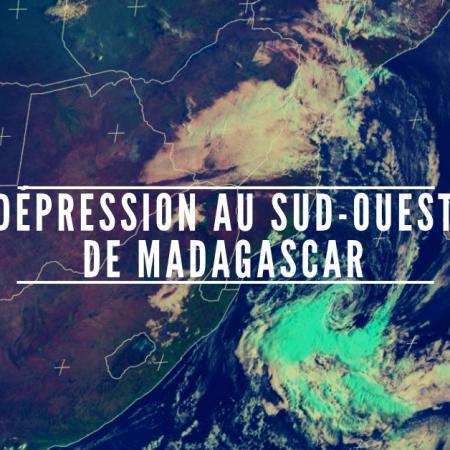 Depression au sud ouestde madagascar