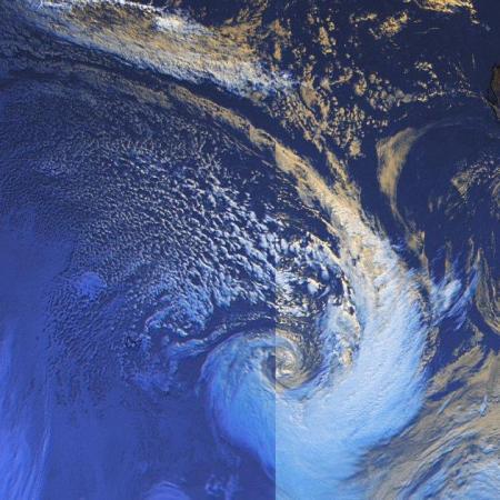 Depression polaire ocean indien