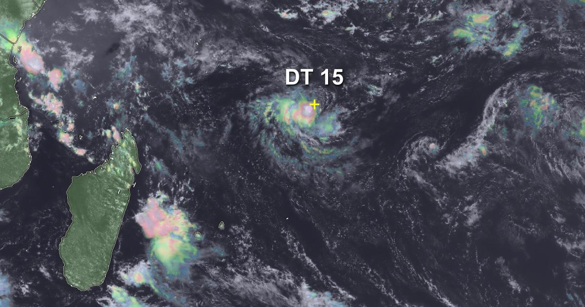 Depression tropicale 15