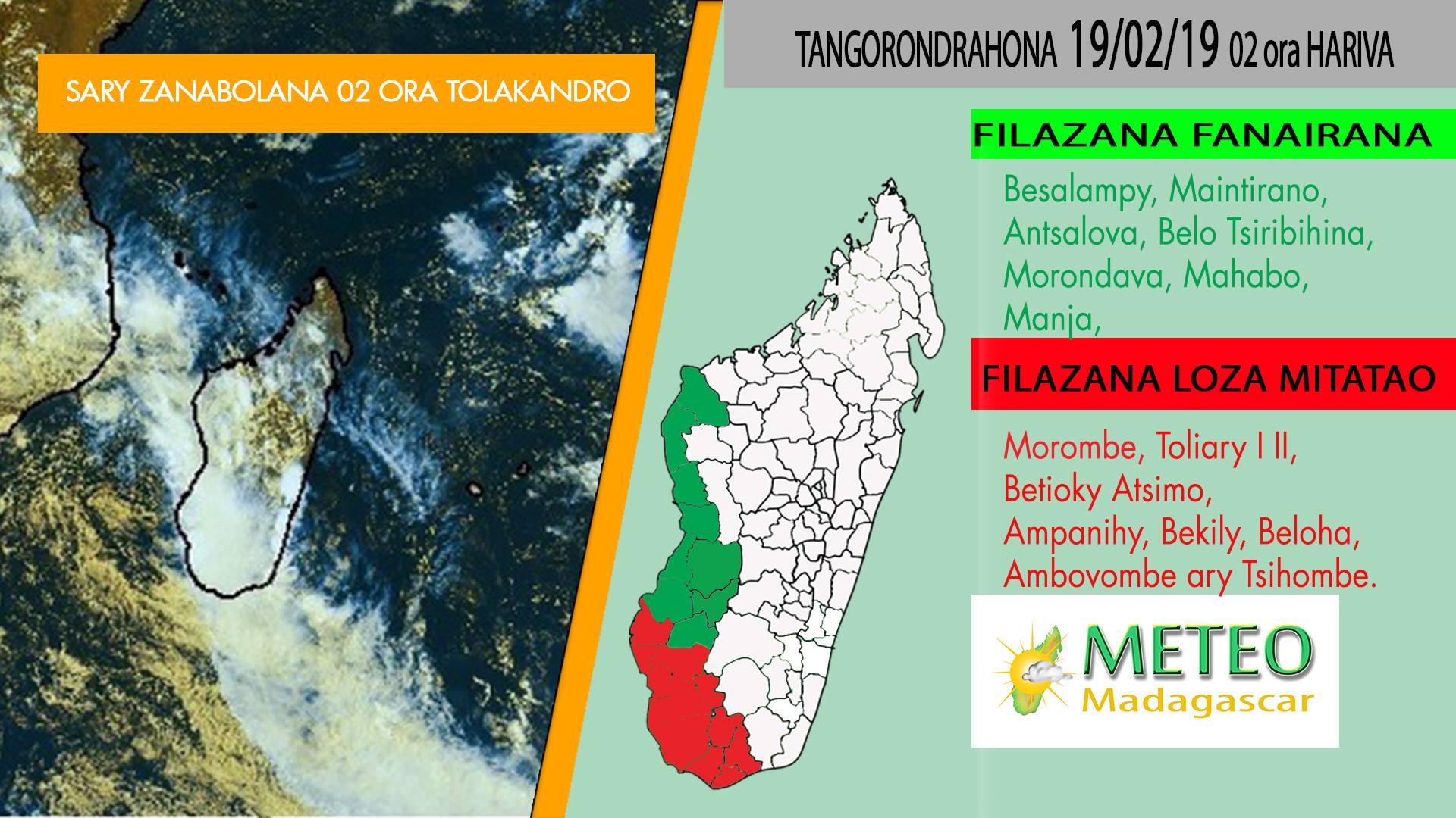 Alerte rouge Madagascar