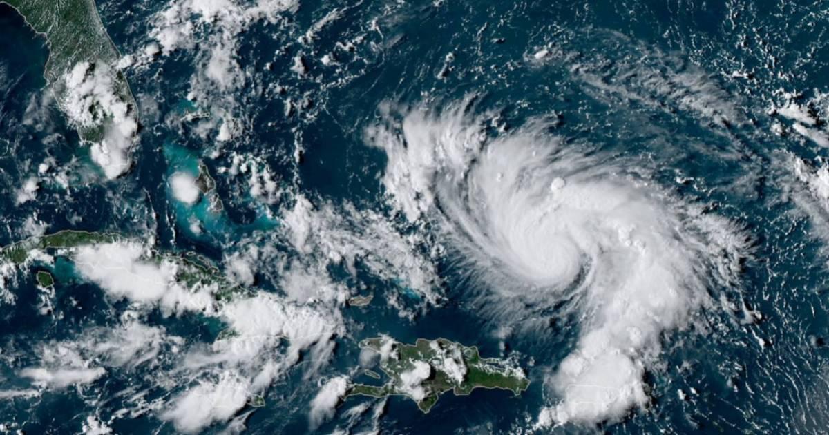 Dorian ouragan majeur 1
