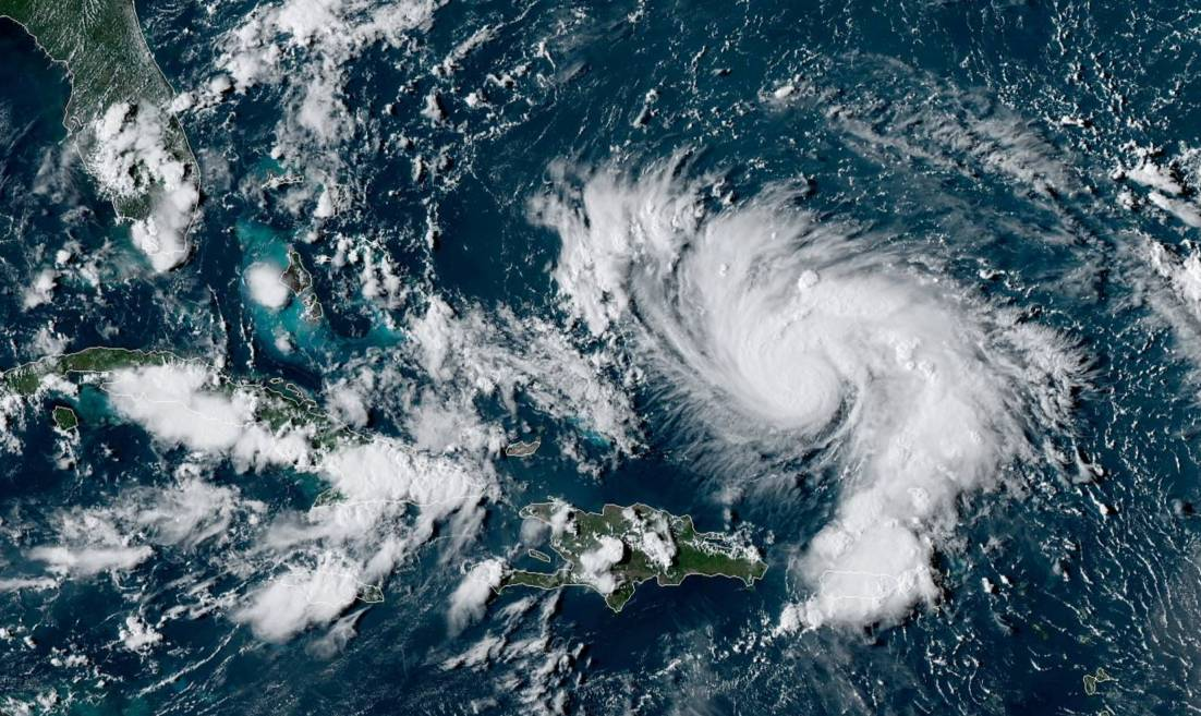 Dorian ouragan majeur