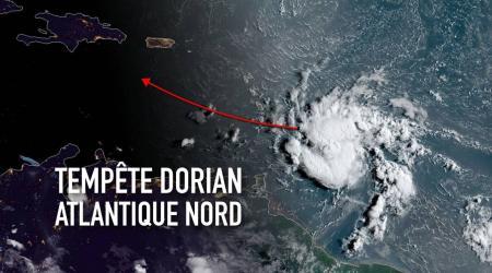 Dorian track