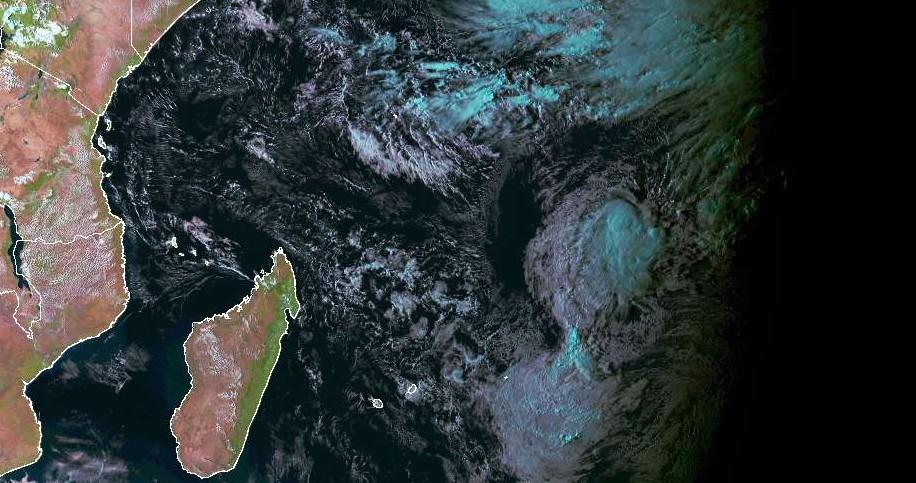 La probable première tempête tropicale de la saison cyclonique 2018/2019