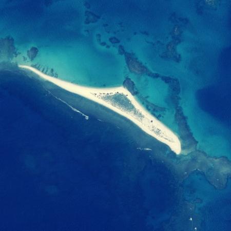 Une île disparaît après un cyclone