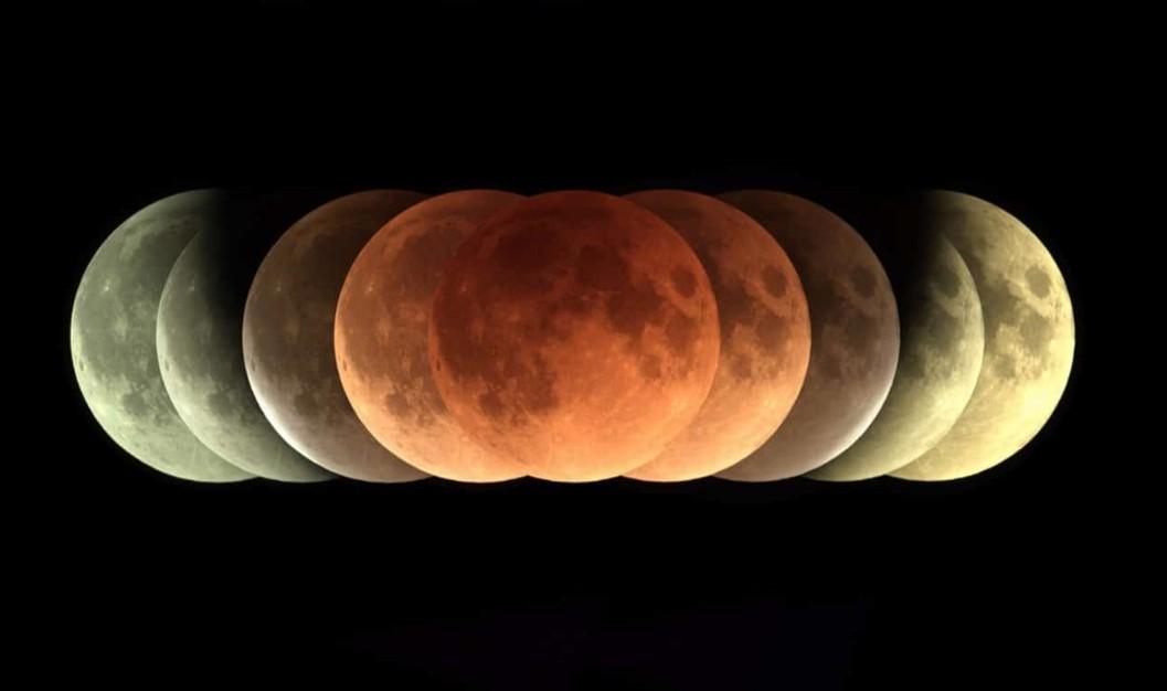 Eclipse lunaire 2018