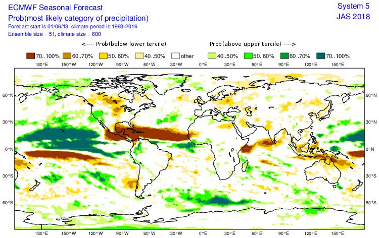 Ecmwf anomalie précipitation hiver 2018