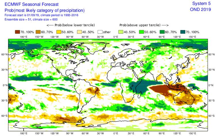 Ecmwf prevision pluie ocean indien