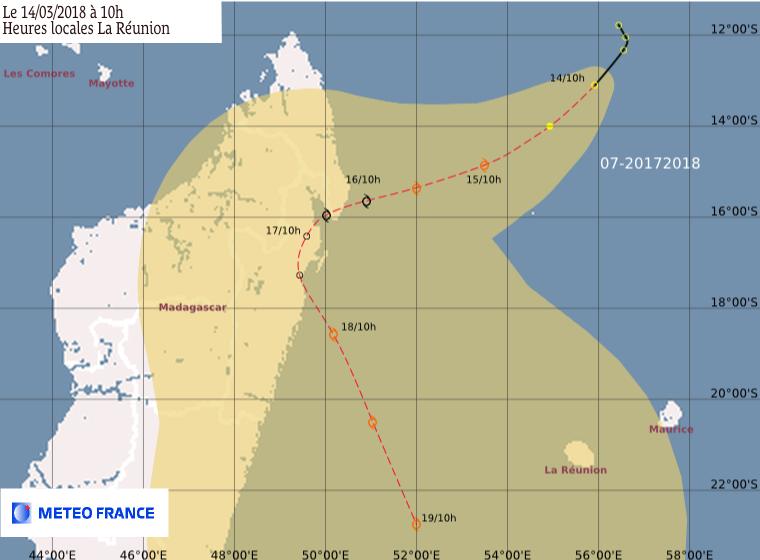 Eliakim prévision Météo France