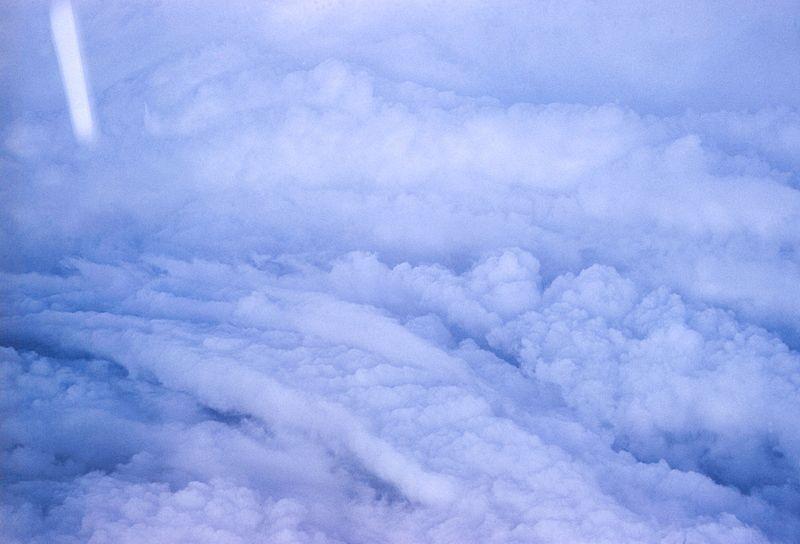 Dans l'oeil de l'ouragan Esther ©NOAA