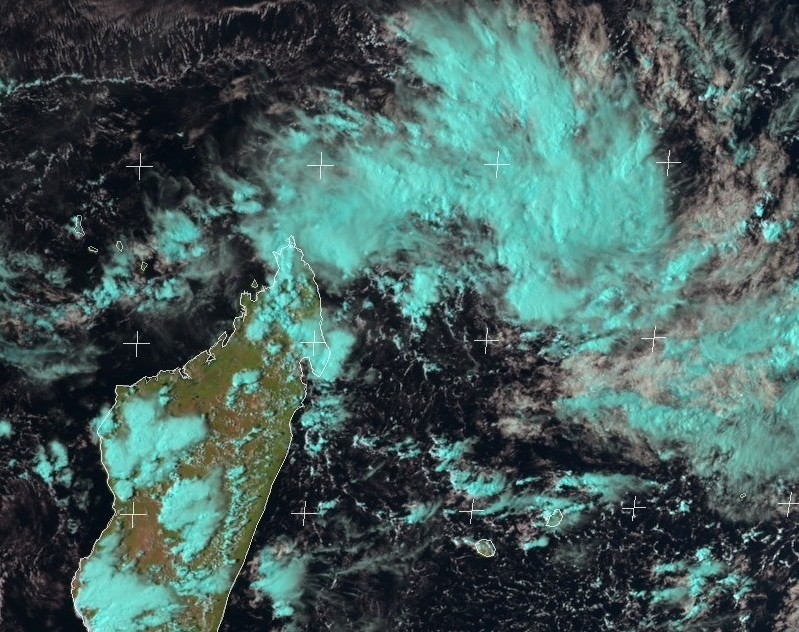 Image satellite du 01/03/2017 à 12z ©eumetsat