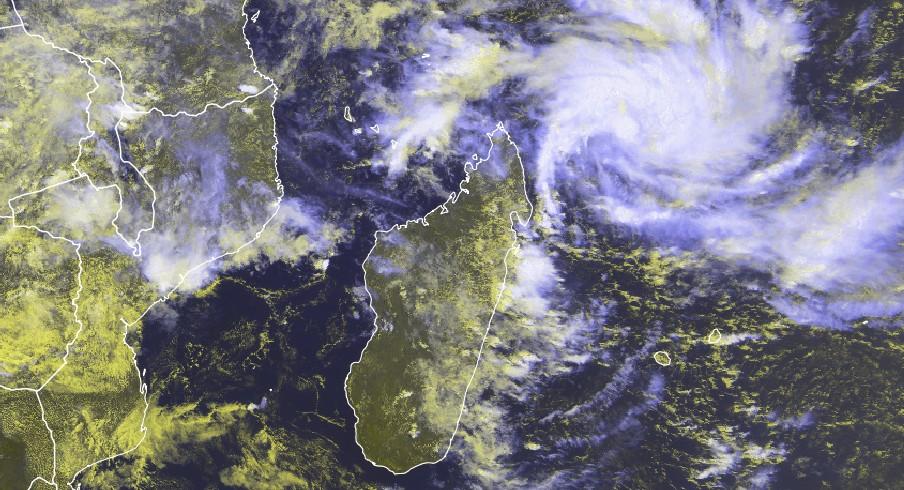 Image satellite du 02/03/2018 à 0915z ©eumetsat