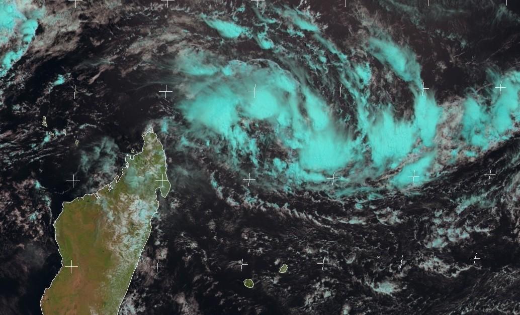 Image satellite bassin sud-ouest océan indien 13/03/2018 ©eumetsat