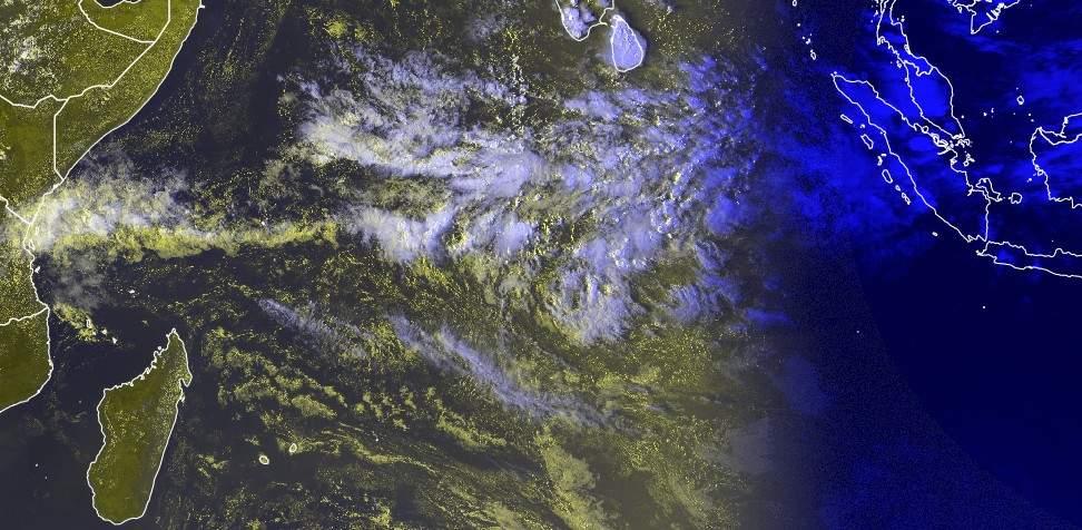 Image satellite de l'océan indien sud ©EUMETSAT