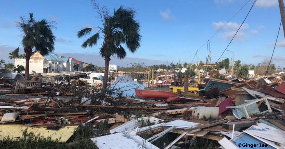 Floride dévastée par l'ouragan Michael