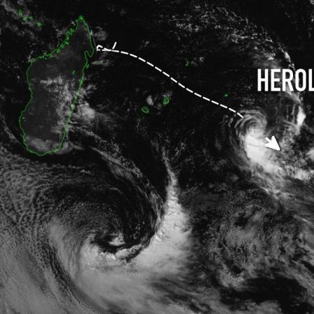cyclone herold à Rodrigues
