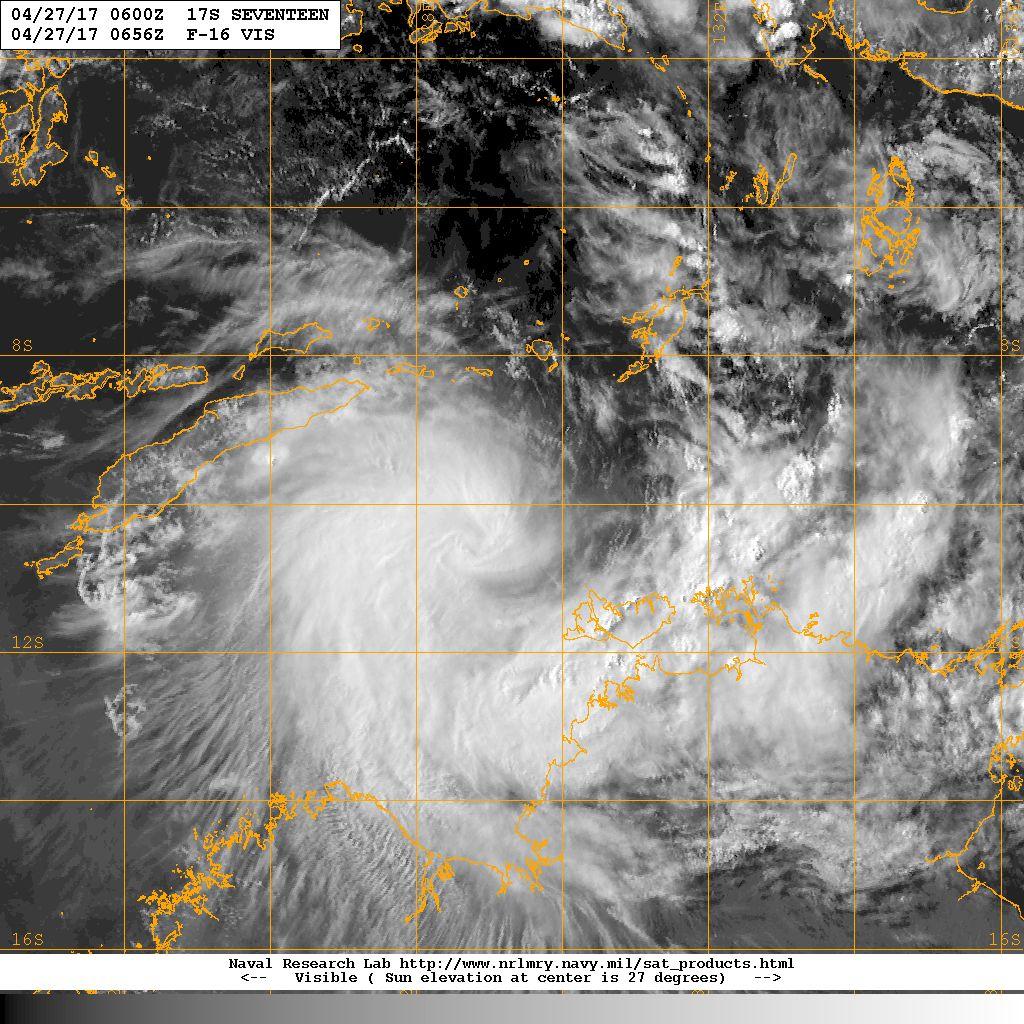 Tempête Tropicale Frances 27/04/2017 à 6utc (nrl)
