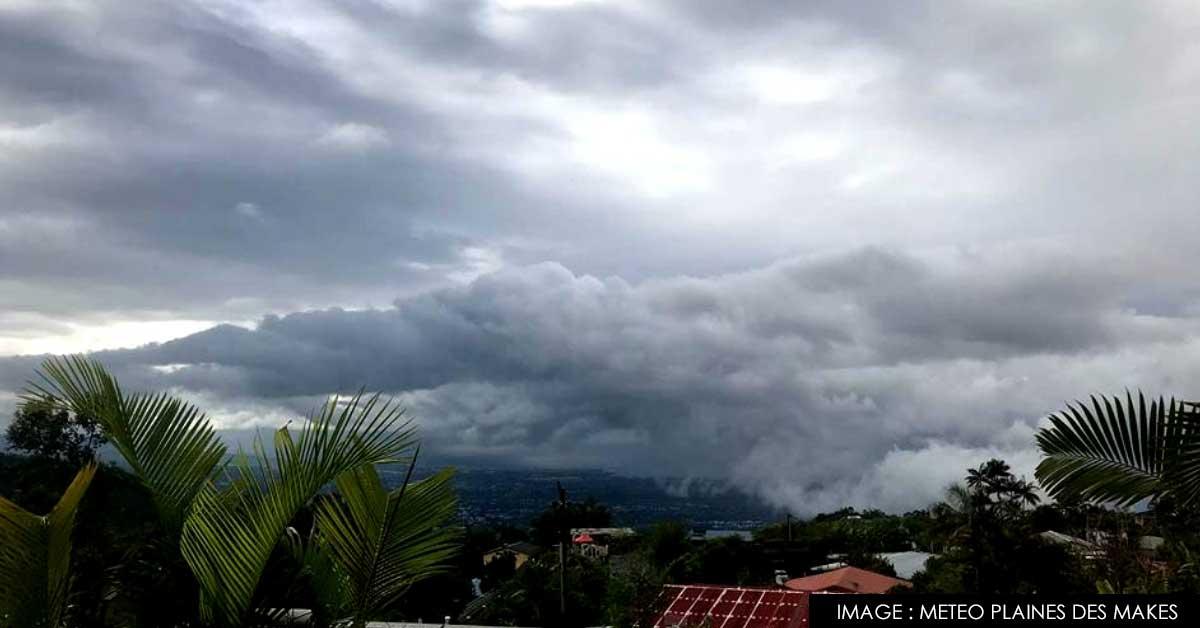 front froid à la Réunion