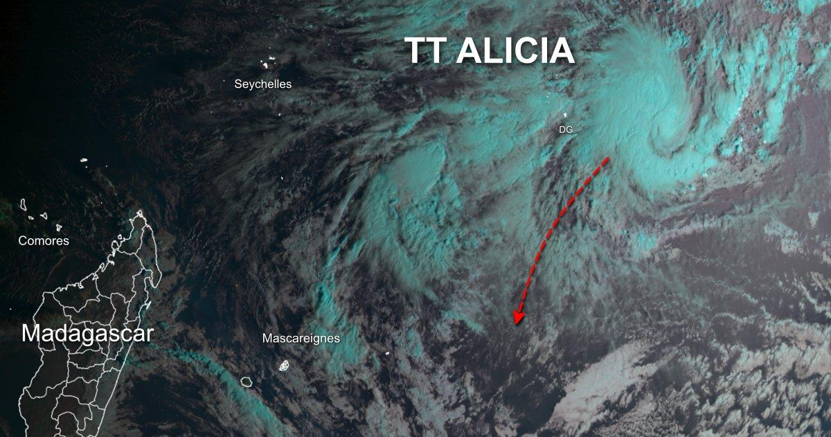 Futur cyclone alicia